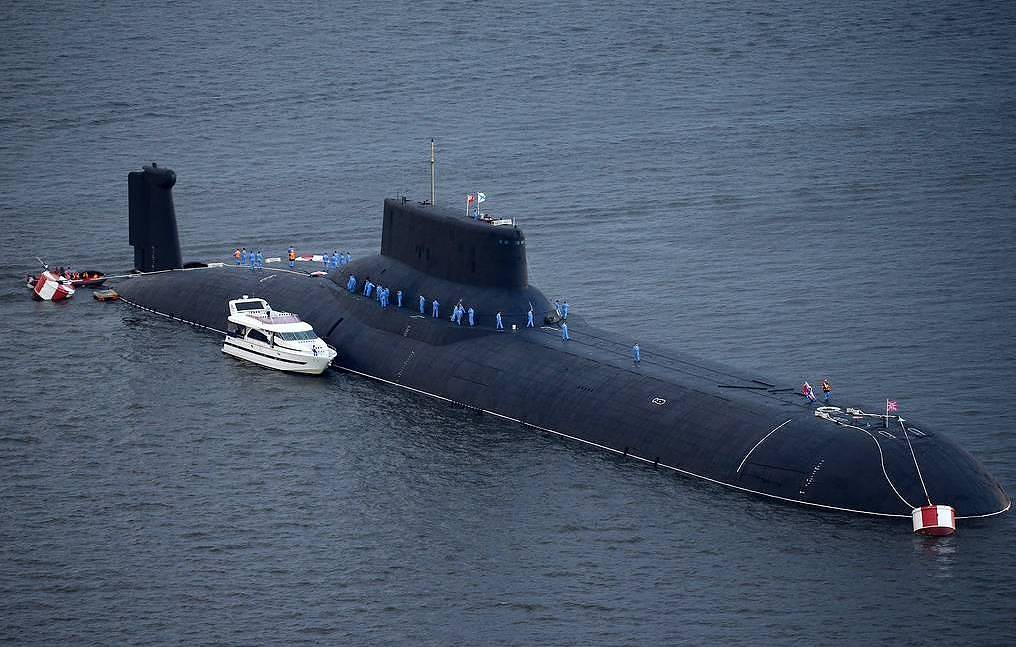 The Largest Nuclear-Powered Submarine In The World Participates In The Exercises Of The Russian Northern Fleet