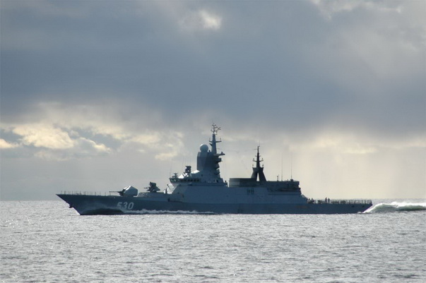 """The Launch Of The Uran Cruise Missile Against a Naval Target Was First Made by the Newest Corvette, The PF """"Loud"""""""