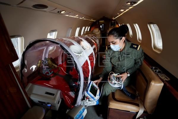 The Mexican Navy Sends In Air Ambulances To Save COVID-19 Patients