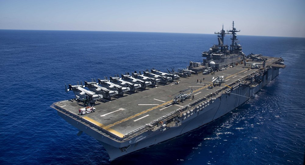 The New Catapults Of The Aircraft Carriers Of The United States Will Use ... Steam, Says Trump