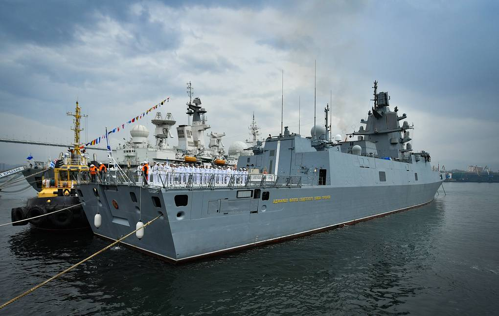 The Northern Fleet Working Group Arrives In Kronstadt After The Global Circumnavigation