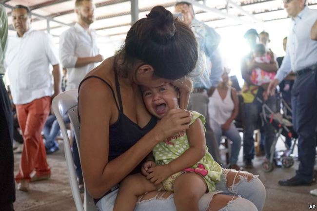 The USA Will Send a Hospital Ship to Colombia to Help Venezuelan Refugees