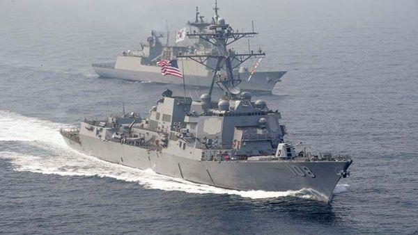 The United States And Asean Carry Out Joint Naval Maneuvers Amid Tensions With China