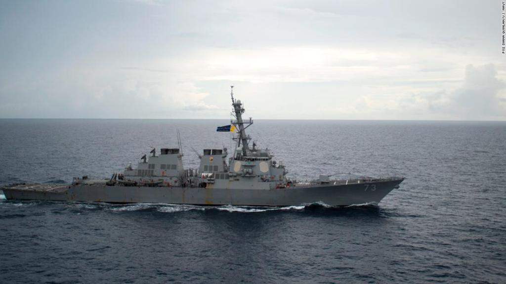 The United States Navy Proposes a Great Demonstration of Strength to Warn China