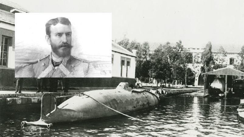 The submarine of Isaac Peral the story of an infamy that left Spain without colonies