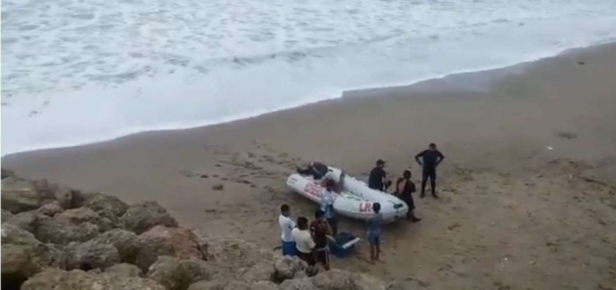 They Find In Manta, Ecuador The Body of a Fisherman That Disappeared After a Motorboat Accident