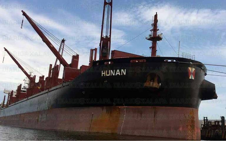 They Find a Drug Shipment on a Ship That Arrived from Colombia to Tuxpan