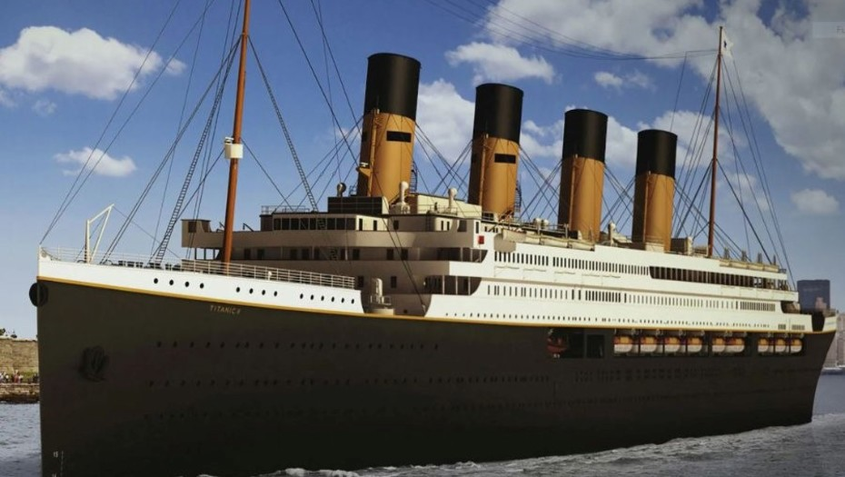 This Will Be The New Titanic That Will Sail in 2022 and Will Have Lifeboats For All