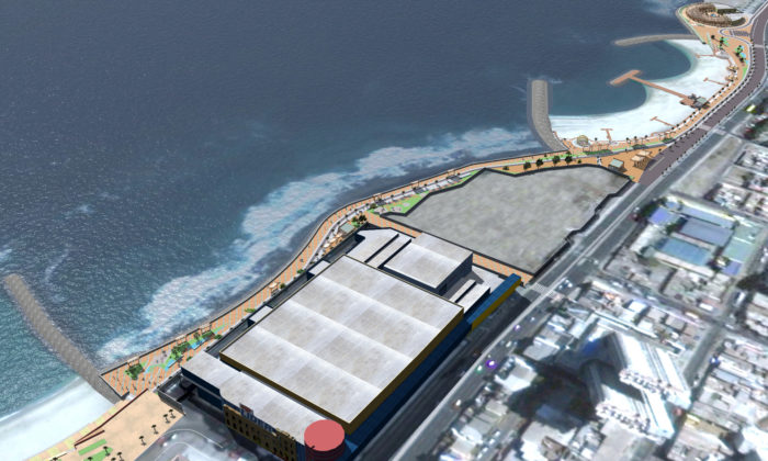 This Will Be the Largest Artificial Beach in Chile to be Built in Antofagasta