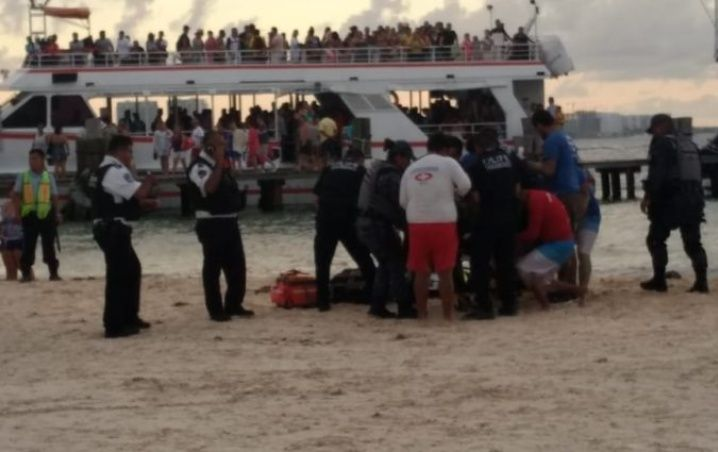 Tragically; A Young Boy Dies by Drowning in Cancun's Playa Langosta