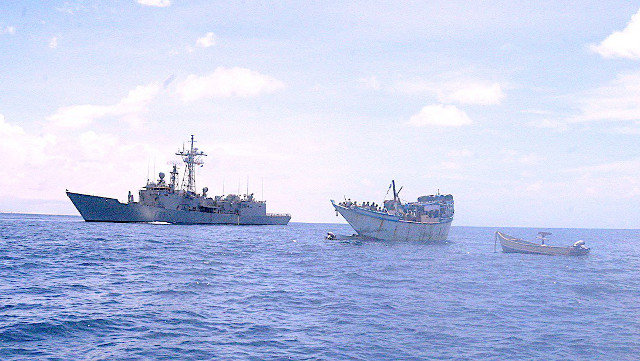 Tuna Fishing Boat Scares Of Somali Pirates Who Were About To Attack Them