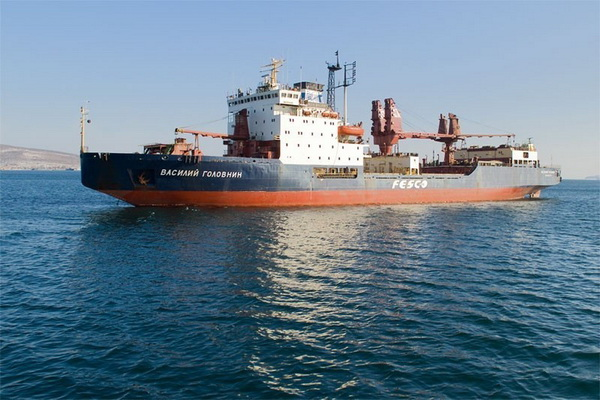 """Two Sailors Died on the Russian Vessel """"Vasily Golovnin"""" on the way to South Africa"""