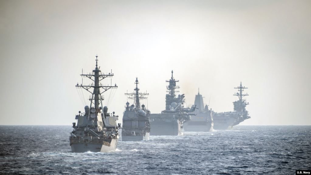 U.S. Navy Enters The Barents Sea For The First Time Since The 1980s