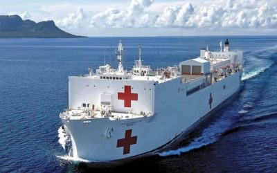 U.S. Navy will send hospital ship to the Port of Los Angeles to face Covid-19