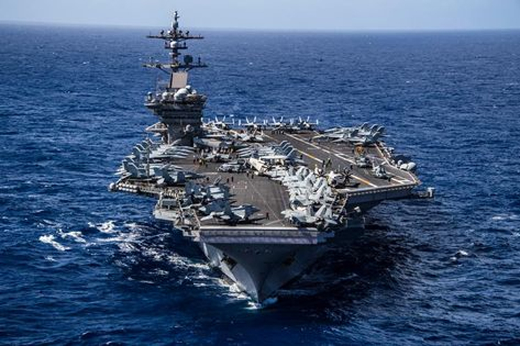 US Aircraft Carrier Theodore RooseveltReturns to the Pacific Ocean