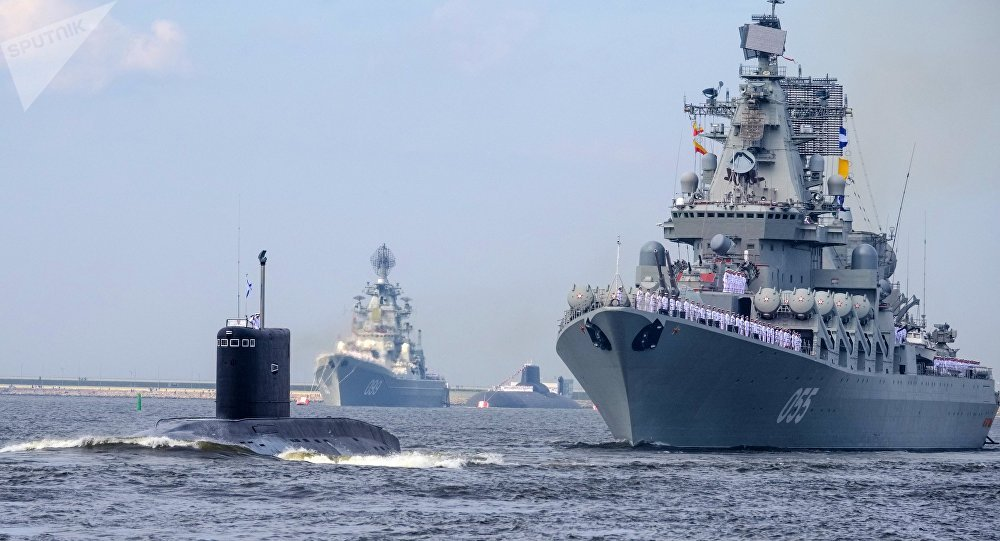 US Closely Follows Russian Naval Exercises In The Arctic