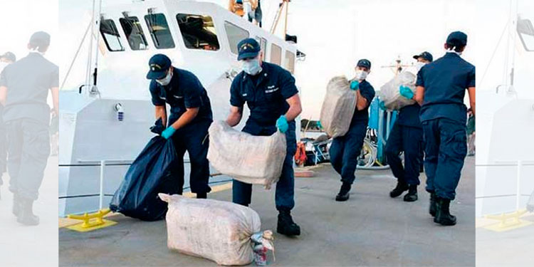 US Coast Guard Seizes More Than 3 Tons Of Cocaine Near Coast Of Mexico