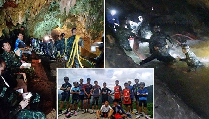US Cooperates with Thailand in the Rescue of Children from the Cave