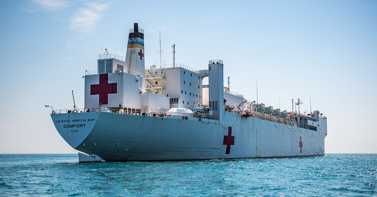 US Hospital Ship Will Serve Venezuelan Refugees in Latin America