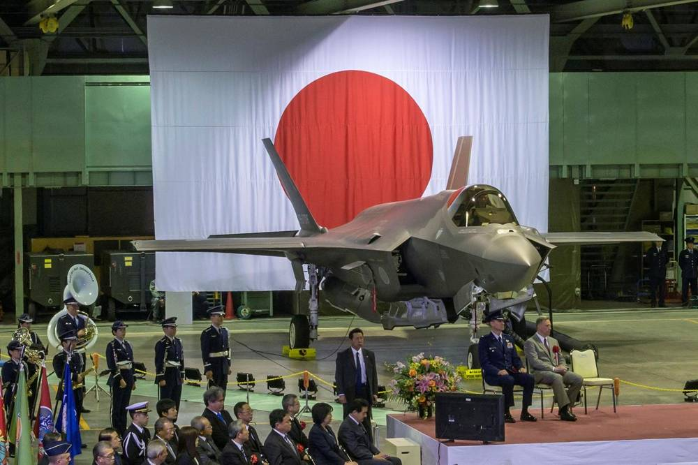 US Navy UU Joins the Search of the Japanese Pilot of the F-35A