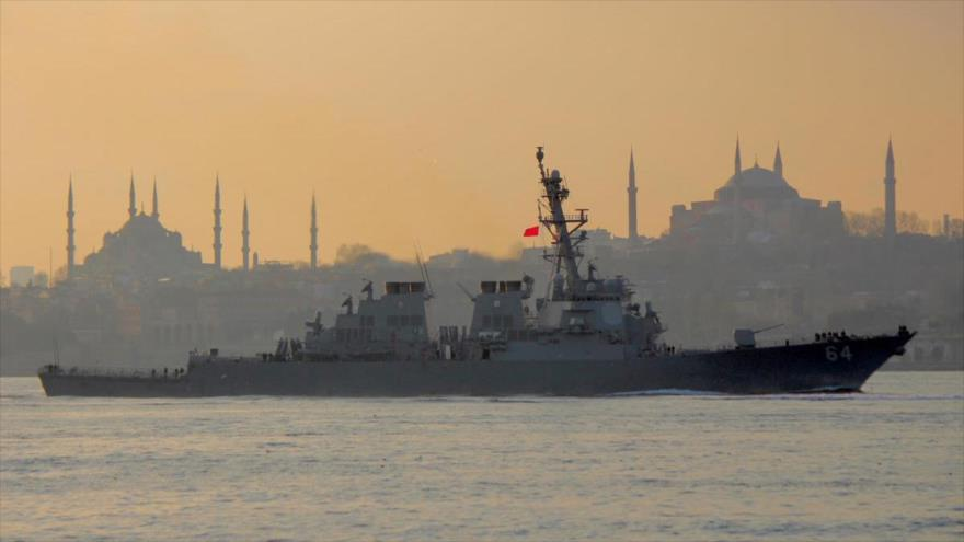 US ship reaches the Black Sea for maneuvers with Ukraine