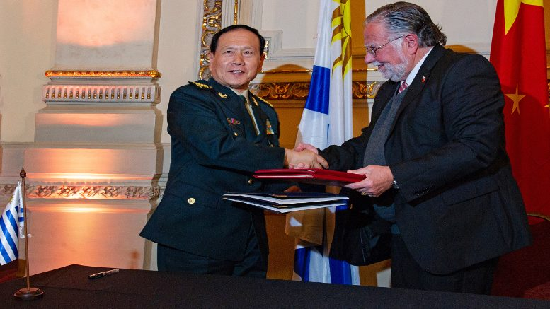 Uruguay Negotiates With China Donation Of Naval Platform Equivalent To 4.2 Million Dollars