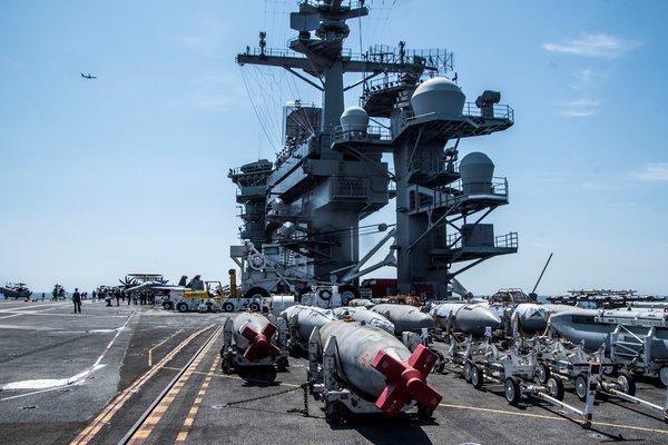 What The US Aircraft Carrier That Travelled To The Middle East Is Doing That Worries Iran