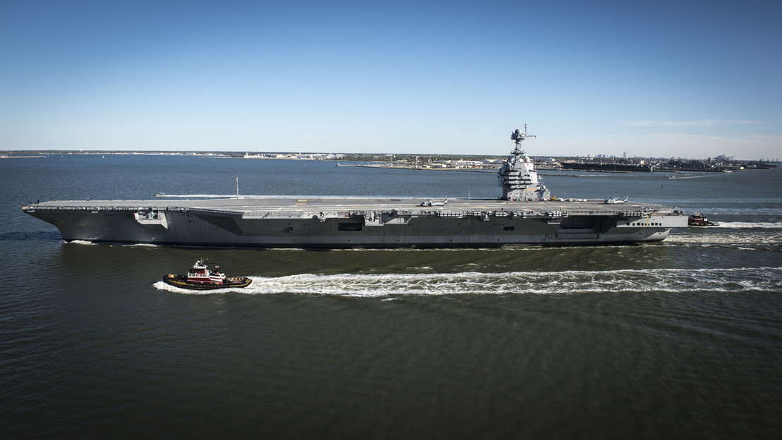 World's Most Advanced Aircraft Carrier The USS Gerald R. Ford Has A Problem With Its Toilets