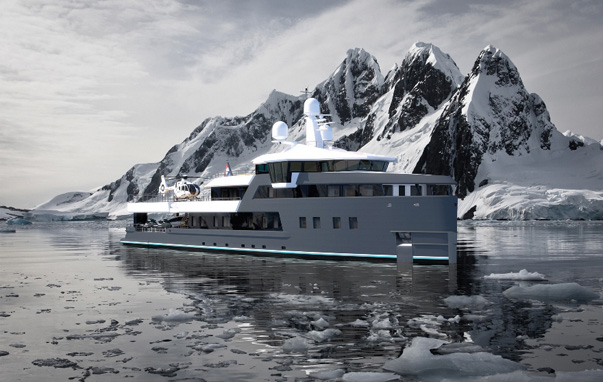 Yachts Ice Class. Who Builds Them and Why