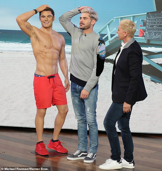 Zac Efron Warms Up To His New Doppelganger