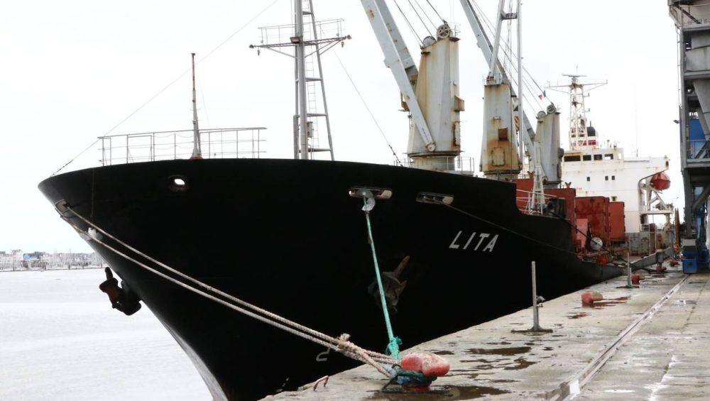cargo ship Lita can