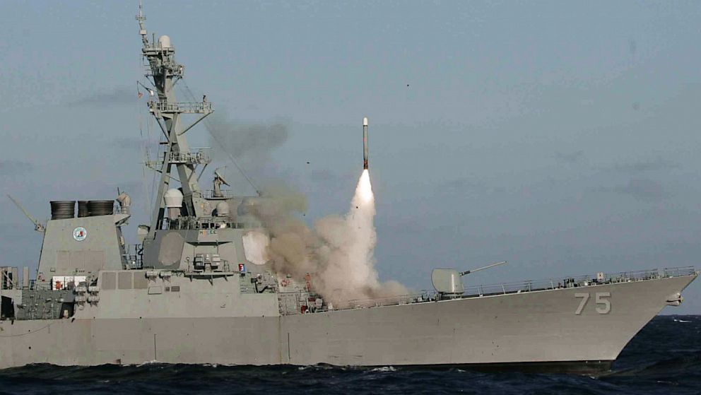 destroyers of the US Navy armed with Tomahawk cruise missiles