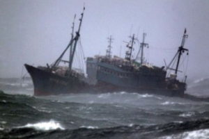 fishing trawler distress