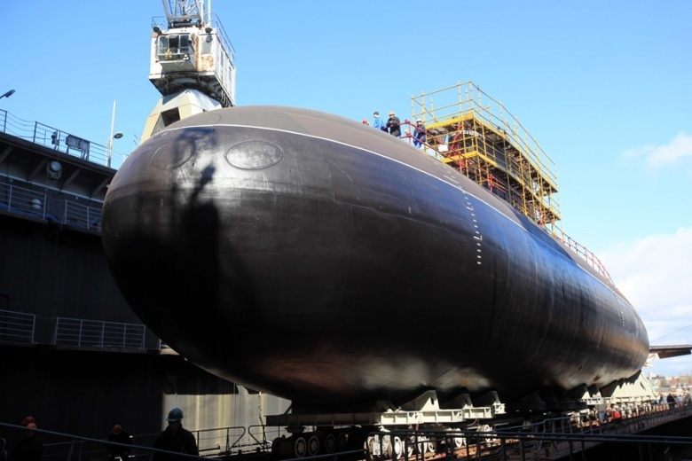 promising fifth generation Husky nuclear submarine.