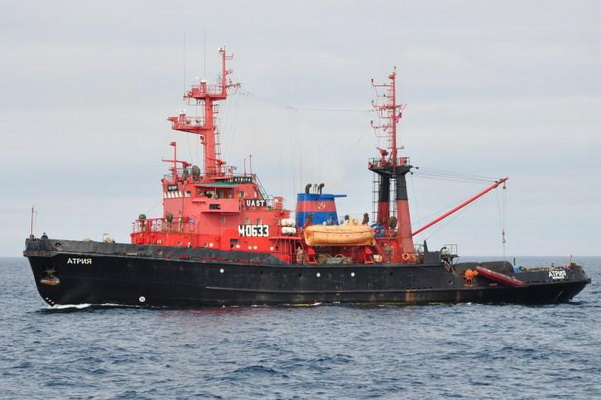 search for the missing sailor in the Barents Sea