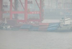 Shang Qing 3 Hao lost containers