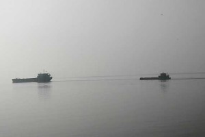 ship sinking Poyang Lake