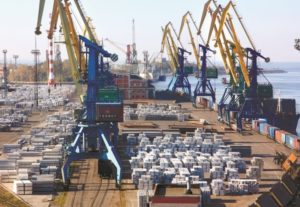 stevedoring JSC Seaport St Petersburg